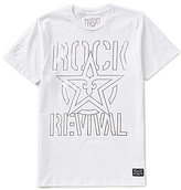 Rock Revival Rock Short-Sleeve Graphic Stencil Tee