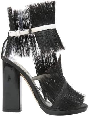 Reed Krakoff Black Leather Heels