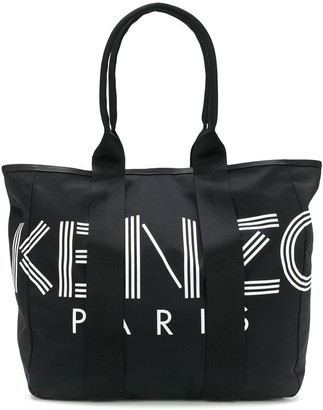 Kenzo logo shopper tote bag