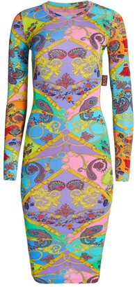 Versace Paisley Bodycon Dress