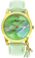 Boum Aquarelle Collection BOUBM3905 Women's Gold Analog Watch