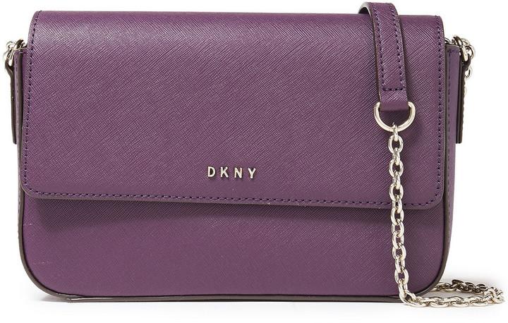 DKNY Bryant Textured-leather Shoulder Bag