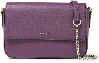 DKNY Bryant Textured-leather Shoulder Bag