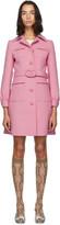 Gucci Pink Wool Short Coat