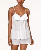 Kate Spade Dotted Jacquard Cami & Shorts Pajama Set
