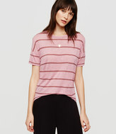 Lou & Grey Striped Slinkysoft Tee