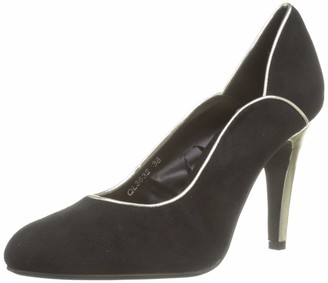The Divine Factory Women's Genny Closed Toe Heels