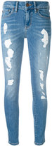Tommy Hilfiger ripped cropped skinny jeans - women - Cotton/Spandex/Elastane/Polyester - 25