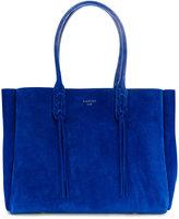 Lanvin shopper tote bag - women - Suede - One Size