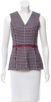 Carolina Herrera Sleeveless Tweed Top w/ Tags