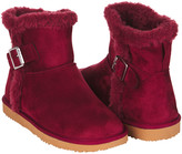 Floopi Women's Cold Weather Boots Burgundy - Burgundy Mid-Calf Boot - Women