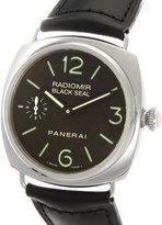 Panerai Radiomir PAM00183 Stainless Steel with Black Dial 45mm Mens Watch