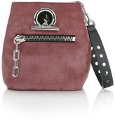 Alexander Wang Riot Crossbody Bag In Mauve With Rhodium