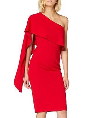 Quiz Women's ONE Draped Shoulder MIDI Dress Party,(Size:)