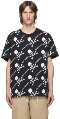 Mastermind Japan Black Logo Pattern T-Shirt