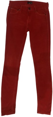 Mother Red Cotton - elasthane Jeans for Women