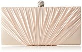 L.Credi Women's Dancing Queen Clutch Beige