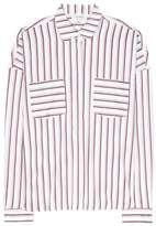 Isa Arfen Striped cotton shirt