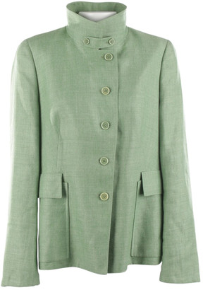 Akris Green Cashmere Jackets