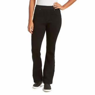 Gloria Vanderbilt Women's Misses High Rise Pull On Boot Cut Jean