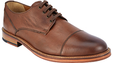 John Lewis New Surrey Toe Cap Derby Shoes, Tan