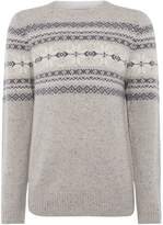 Howick Northern Fairisle Crew Neck Jumper