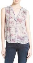 Joie Women's Finnegan Print Silk Blouse