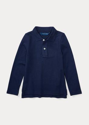 Ralph Lauren Long Sleeve Uniform Polo