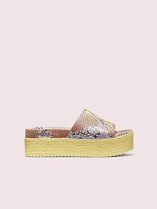Kate Spade Zia Platform Slide Sandals