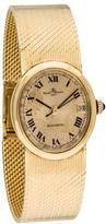 Baume & Mercier 18K Oval Baumatic Watch