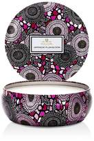 Voluspa Japonica Japanese Plum Bloom 3 Wick Candle in Decorative Tin