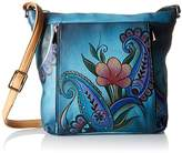 Anuschka Handpainted Leather Medium Travel Organizer