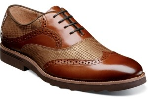 Stacy Adams Men's Callan Wingtip Oxford Shoes Men's Shoes