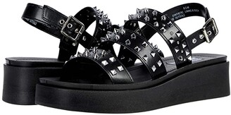 Steve Madden Tera Sandal (Black) Women's Shoes