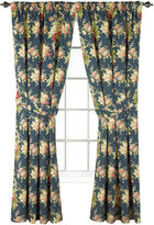 Waverly Sanctuary Rose Floral 2-Pack Curtain Panels