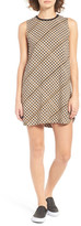 RVCA Seldom Basketweave Print Shift Dress