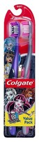 Colgate Monster High Manual Toothbrush Soft, 2ct