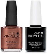 CND Creative Nail Design Vinylux Leather Satchel Nail Polish & Top Coat (Two Items), 0.5-oz, from Purebeauty Salon & Spa