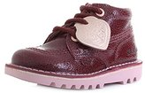 Kickers Girls' Kick Hi Lthr If Boots,28 EU