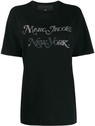 Marc Jacobs crystal embellished T-shirt