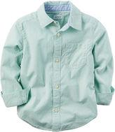Carter's Long-Sleeve Cotton Shirt - Preschool Boys 4-7