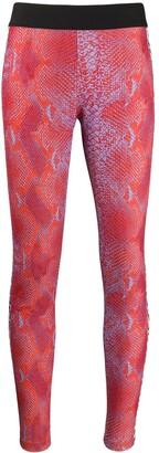 Just Cavalli snakeskin print leggings