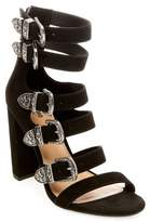 Mossimo Women's Western Multiple Buckle Ankle Strap Sandals