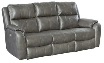 """Thumbnail for your product : Southern Motion Marquis 84"""" Pillow Top Arm Reclining Sofa"""