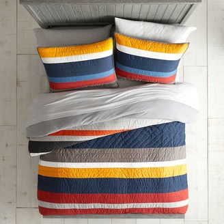 Pottery Barn Teen MVP Stripe Quilt - Get The Look