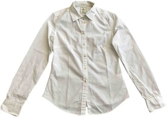 Timberland White Cotton Top for Women