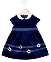 Florence Eiseman Girls' Velvet Short Sleeve Dress w/ Tags