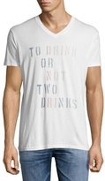 Sol Angeles Two Drinks V-Neck T-Shirt