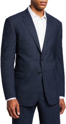 Giorgio Armani Men's Melange Plaid Two-Piece Suit