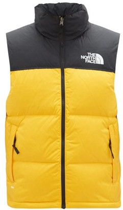 The North Face Nuptse 1996 Quilted-ripstop Down Gilet - Yellow